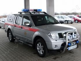 Nissan Navara - Straż Pożarna