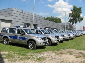 Nissan Pathfinder - Policja