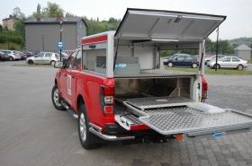 Zabudowa ZPT - Ford Ranger
