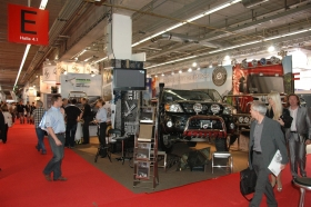Stoisko Steelera na Automechanika we Frankfurcie 2012